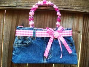 girls denim jeans purse handbag booty bag by thebagladyboutique1-f64012