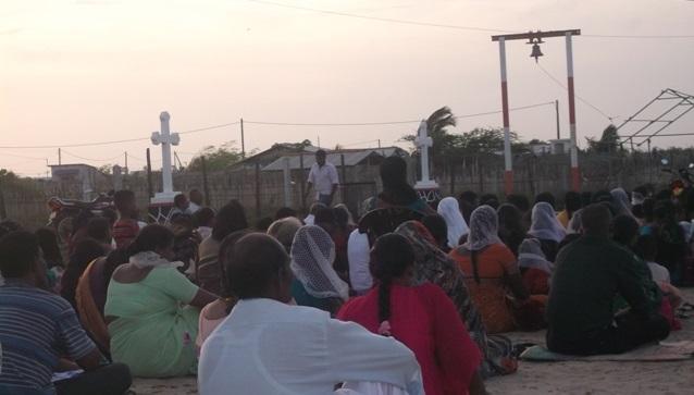 மன்னார் உப்புக்குளத்தில் அமைந்துள்ள குருசுக்கோவிலின் 468 ஆண்டுகள் பழமை வாய்ந்த சரித்திர வரலாறு
