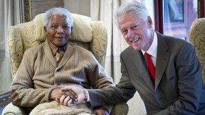President Clinton Visits Nelson Mandela in South Africa