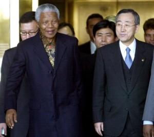 NELSON MANDELA...Former South African president Nelson Mandela,