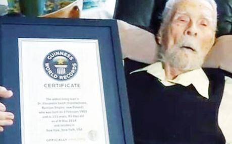 கின்னஸ் புத்தகத்தில் இடம்பெற்ற 111 வயது அமெரிக்கர்