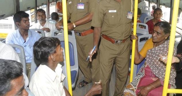 சென்னையில் பஸ் பயணத்தில் ஒரே நாளில் 652 பேர் பிடிபட்டனர் | சுமார் ஒரு லட்சம் அபராதம்