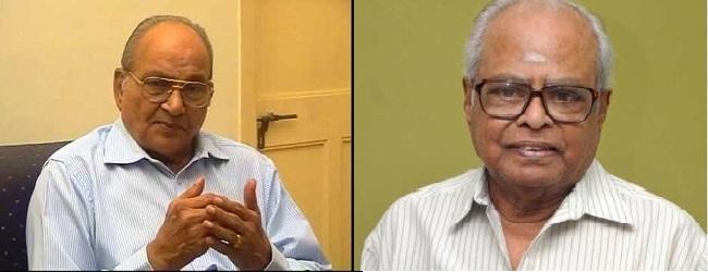 இயக்குனர்கள்  கே. பாலசந்தர்  கே.விஸ்வநாத்  இருவரும்  'உத்தம வில்லன்' படத்தில்