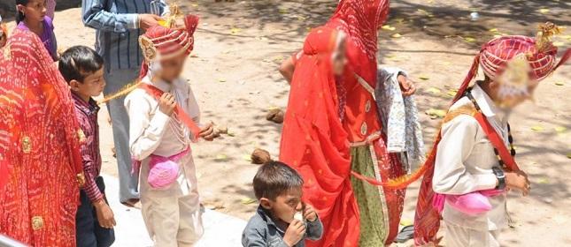 குழந்தை திருமணங்கள் அதிகமாக நடைபெறும் நாடுகளில் இந்தியா 6-வது இடத்தில்.
