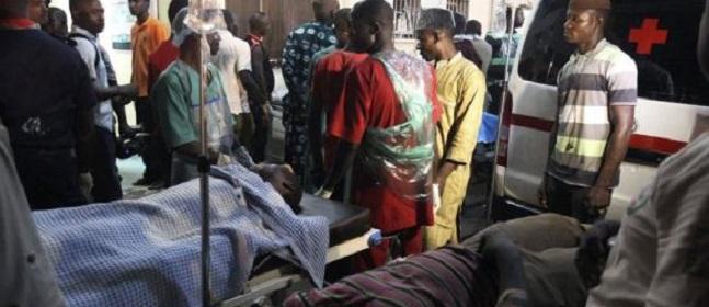 நைஜீரியாவில் நிகழ்ந்த மனித வெடிகுண்டு தாக்குதலில் 48 மாணவர்கள் பலி கை, கால்கள் துண்டிக்கப்பட்ட நிலையில் 50 மாணவர்கள்