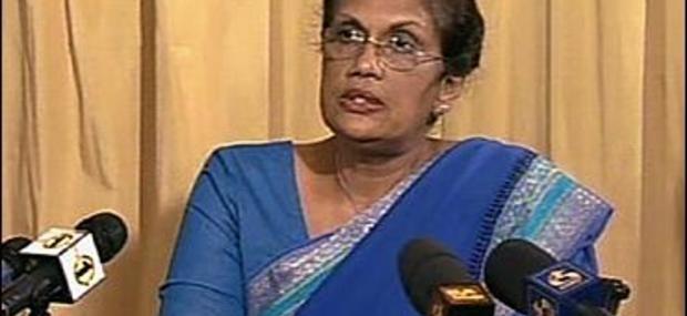 இலங்கை முன்னாள் அதிபர் சந்திரிகா மீண்டும் அரசியல் பிரவேசம்