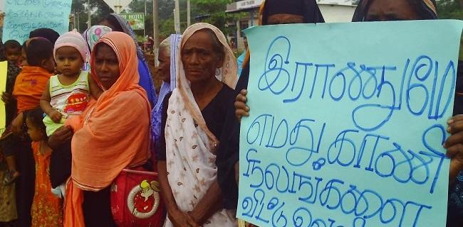 காணி அபகரிப்புத்தான் தமிழர்களுக்கு தீர்வு மீண்டும் உறுதி செய்த சிங்களம்
