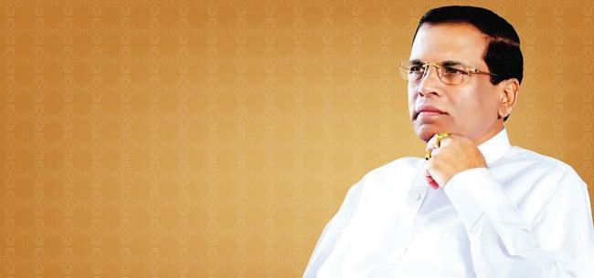 ராஜபட்சவுக்கு பிரதமர் பதவி அளிக்கப்படாது என்று அதிபர் மைத்ரிபால சிறீசேனா திட்டவட்டமாகத் தெரிவித்தார்