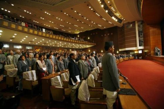 புதிய அரசியல் சாசனம் நிறைவேற்றம் | நேபாள நாடாளுமன்றம்