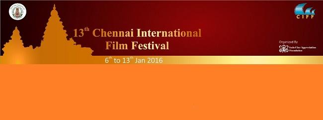 சென்னையில் 13-வது சர்வதேச திரைப்பட விழா ஜனவரி 6-ந்தேதி தொடங்கி 13-ந்தேதி வரை