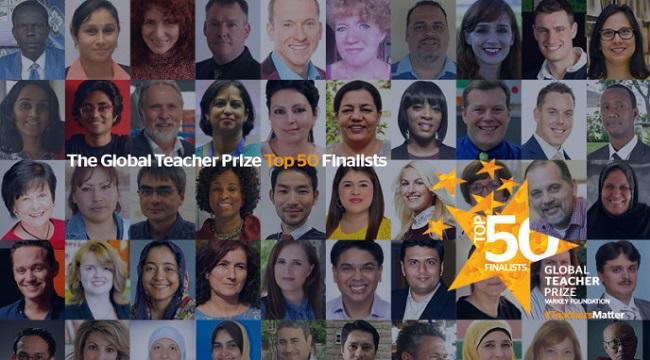 2016ம் ஆண்டிற்கான குளோபல் ஆசிரியர் விருது-4 இந்தியர்கள் தேர்வு