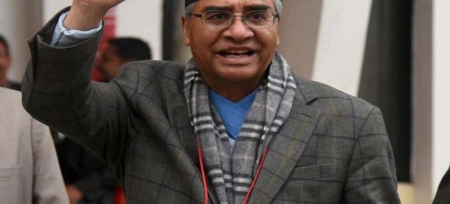 முன்னாள் பிரதமர் ஷெர் பகதூர் தியுபா வெற்றி | நேபாள காங்கிரஸ் தலைவர் தேர்தல்