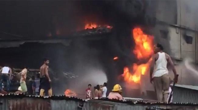 ஆலையில் பாய்லர் வெடித்து தீ விபத்தில் 25 பேர் கருகி சாவு | வங்காள தேசம்