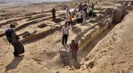 தொல்பொருள் ஆராய்ச்சியாளர்கள் எகிப்தில் 5 ஆயிரம் ஆண்டு பழமையான நகரம் கண்டுபிடிப்பு