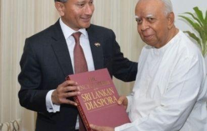 சம்பந்தனுடன் சிங்கப்பூர் வெளிவிவகார அமைச்சர் பேச்சு