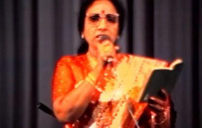 பிரபல பின்னணிப் பாடகி எம்.எஸ்.ராஜேஸ்வரி காலமானார்