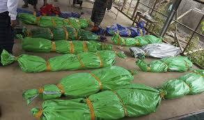 நிலச்சரிவில் சிக்கி 17 பேர் பரிதாபமாக உயிரிழந்தனர்.