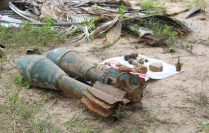 சுதந்திரபுர பகுதியில் விடுதலை புலிகளின் வெடிபொருட்கள் மீட்பு!