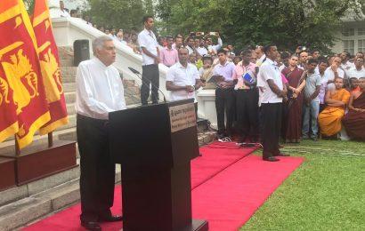 புதிய திருப்பம் – 126 எம் பி களின் ஆதரவுடன் ரணில் நாட்டு மக்களுக்கு உரையாற்றுகிறார்