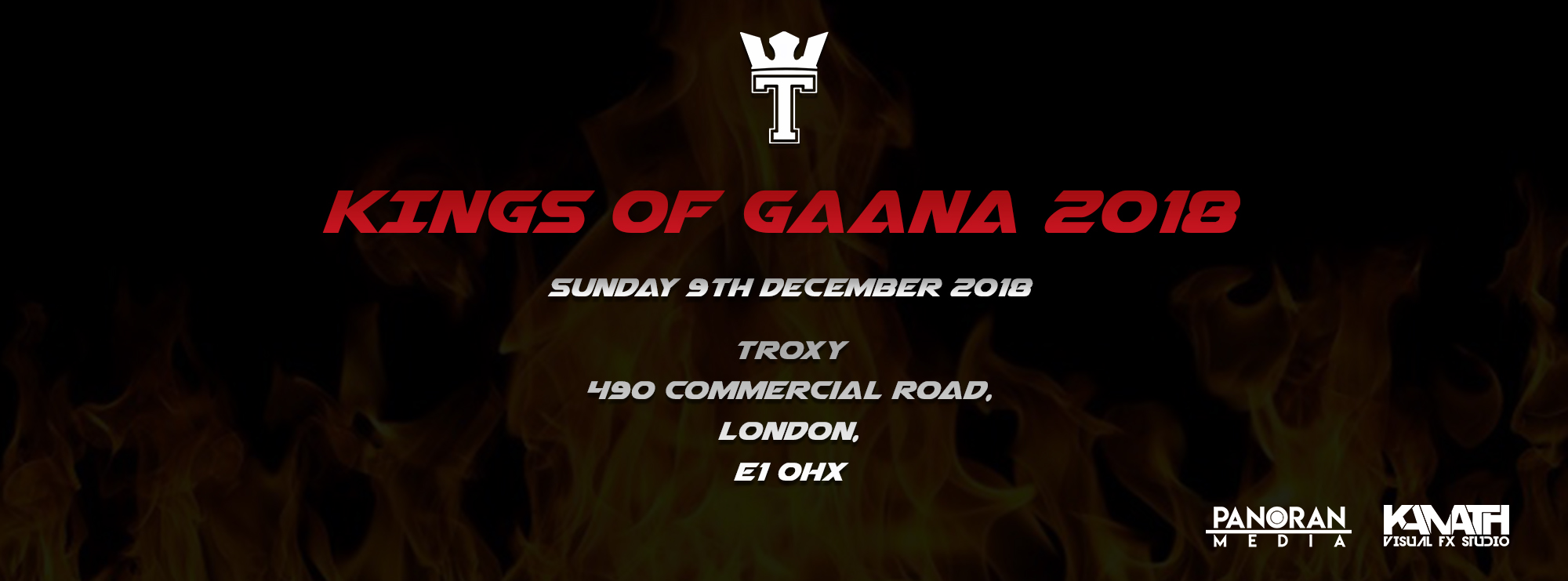 Body Big Banner - Kings of Gaana