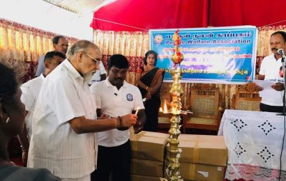 பாதிக்கப்பட்டவர்களுக்கு கைகொடுக்கும் தமிழ் மக்கள் கூட்டணி