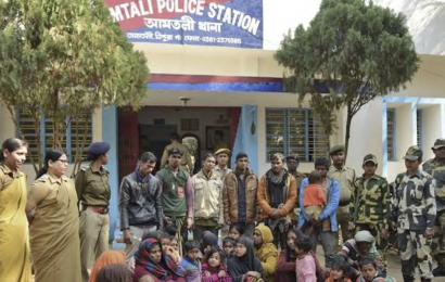 திரிபுராவில் சிறைப்படுத்தப்பட்டுள்ள 31 ரொஹிங்கியாக்களில் 27 பேர் அகதிகளாக பதிவு செய்தவர்கள்