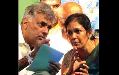 பிரதமர் மீது இராஜாங்க அமைச்சர் விஜயகலா அதிருப்தி