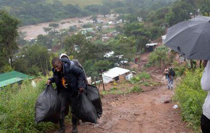 தென்னாப்பிரிக்காவில் பாரிய வெள்ளம் 60 பேர் பலி