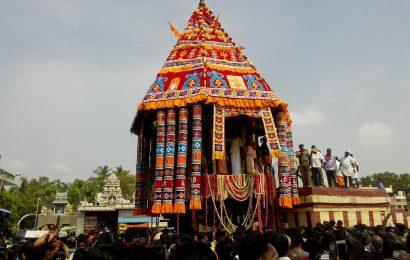 மங்களம் பேட்டை மங்கள நாயகி கோயில் திருத்தேர் திருவிழா.