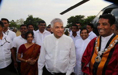 யாழிற்கு பிரதமர் ரணில் விக்ரமசிங்க விஜயம்.