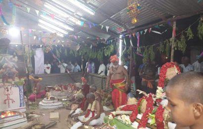 கர்னத்தம் விநாயகர்,-ஸ்ரீ மாரியம்மன்- முருகன் கோயில்கள் கும்பாபிஷேகம்.
