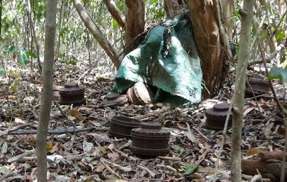 வவுனியாவில் வெடிபொருட்கள் மீட்பு