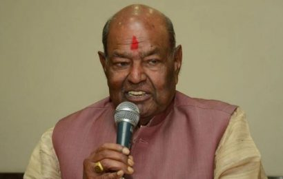 பா.ஜ.க.வின் முன்னாள் தலைவர் இன்று காலமானார்.