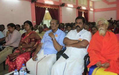 தமிழரசுக் கட்சியின் 70 ஆவது ஆண்டு நிறைவு விழா நேற்று கிளிநொச்சியில் நடைபெற்றது