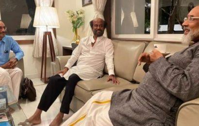 ரஜினி பந்தா இல்லாதவர்; அவரை சந்தித்தது என் பாக்கியம்; விக்கி விளக்கம்