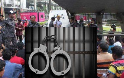 மலேசியாவில் தேடுதல் வேட்டை: அகதிகள் உள்பட 36 வெளிநாட்டினர் கைது