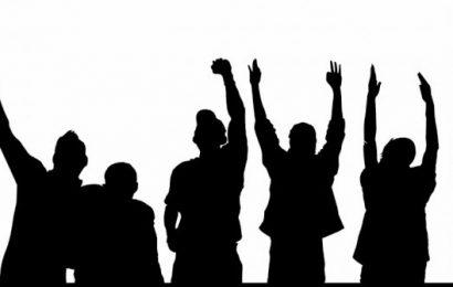 தமிழ் தேசிய மக்கள் முன்னணியின்  ஏற்பாட்டில் யாழில் ஆர்ப்பாட்டம்