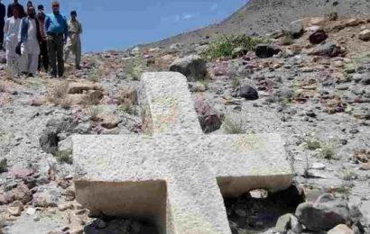 900 ஆண்டு பழமையான சிலுவை கண்டெடுக்கப்பட்டது.